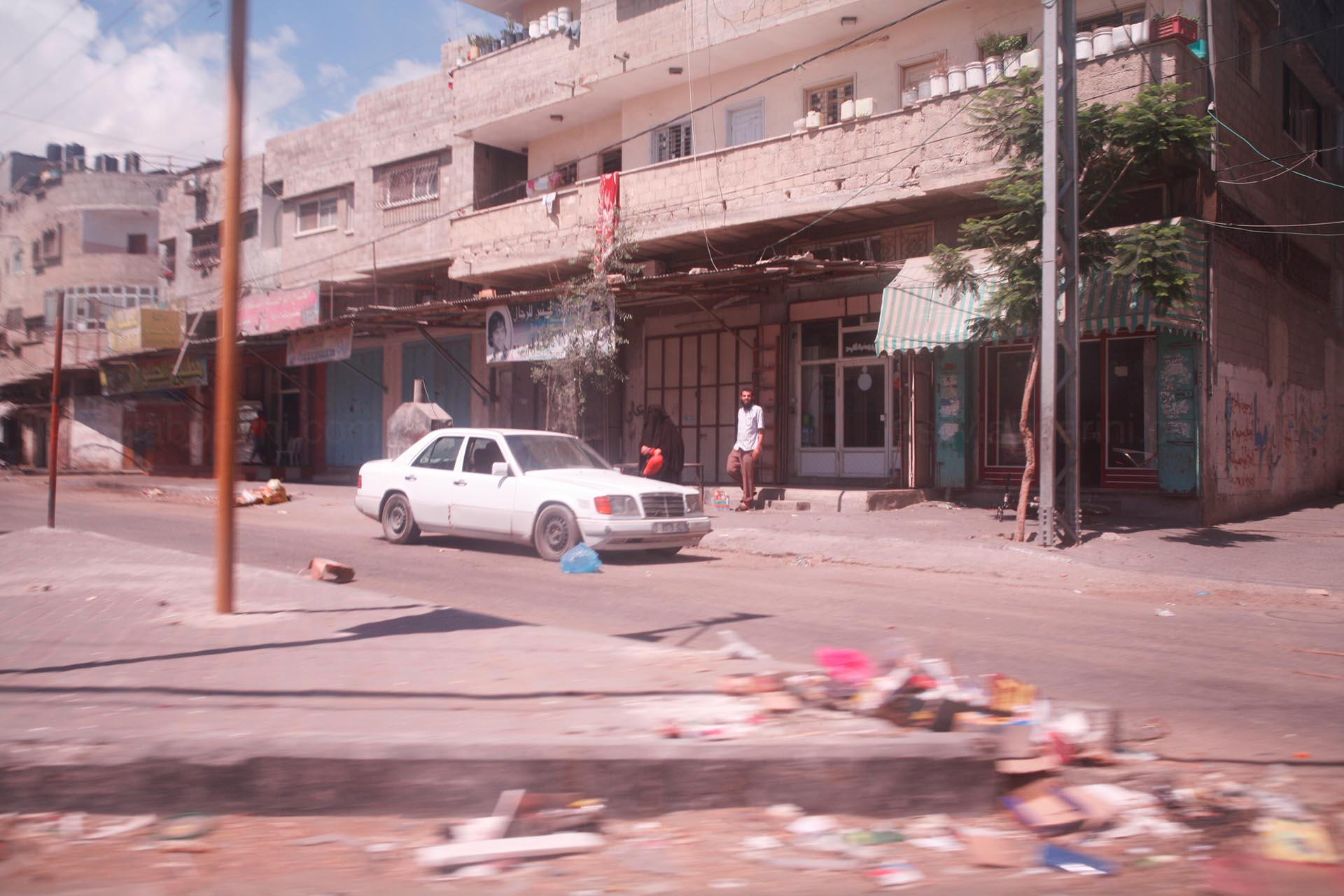 Gaza city, July 2014