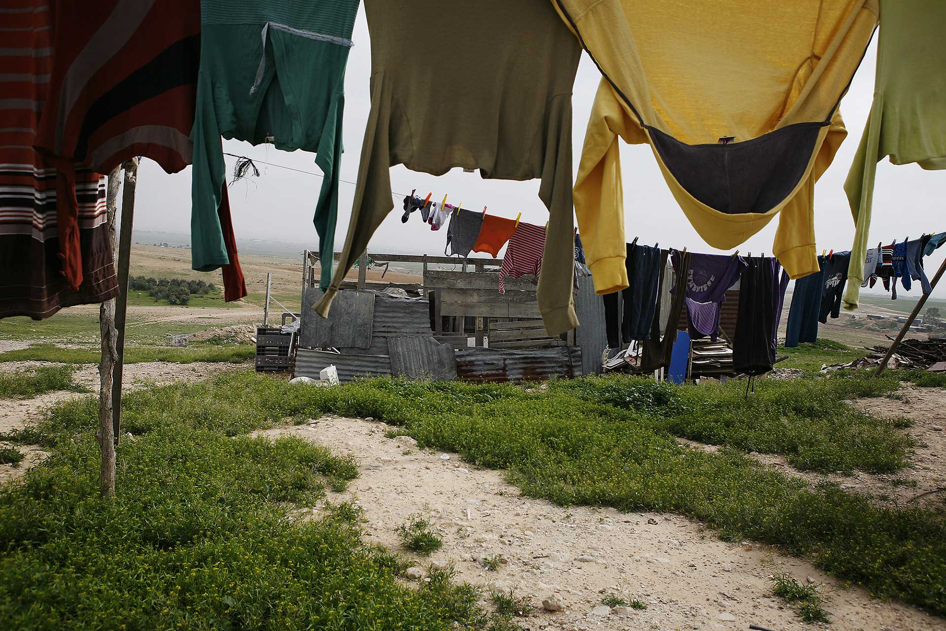Unrecognized village of Alsira, Israel 2014