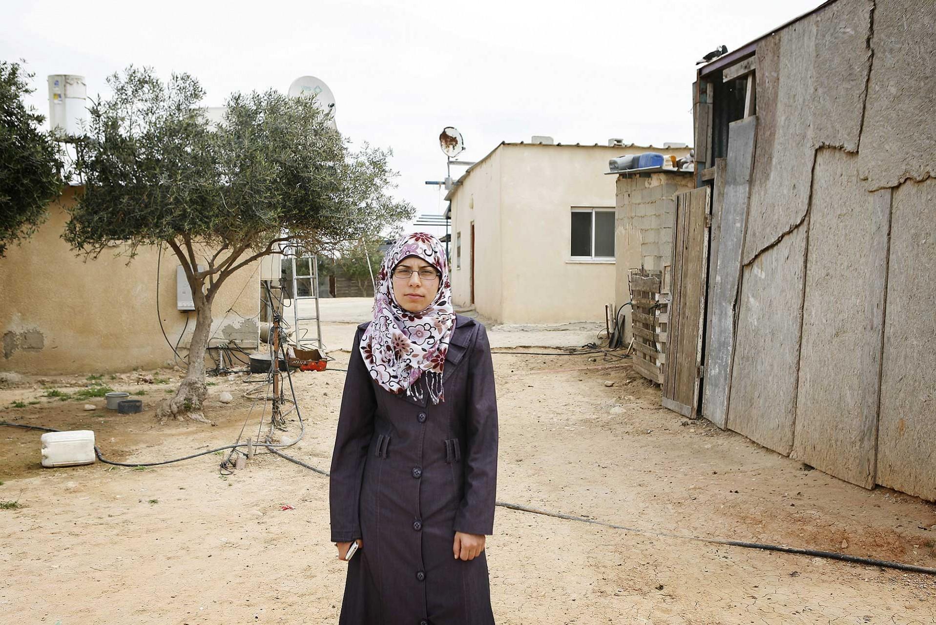 Unrecognized village of Al Zarnouq, Israel 2014
