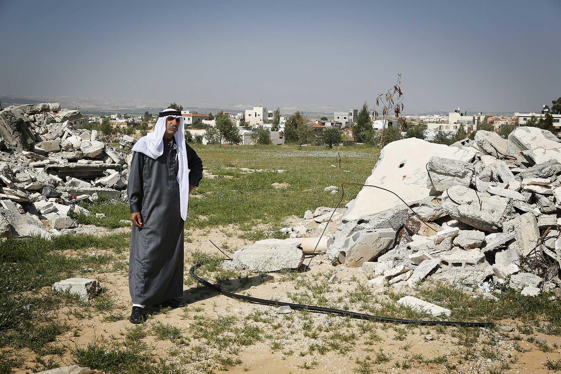 Recognized village of Al Sayed, Israel 2014