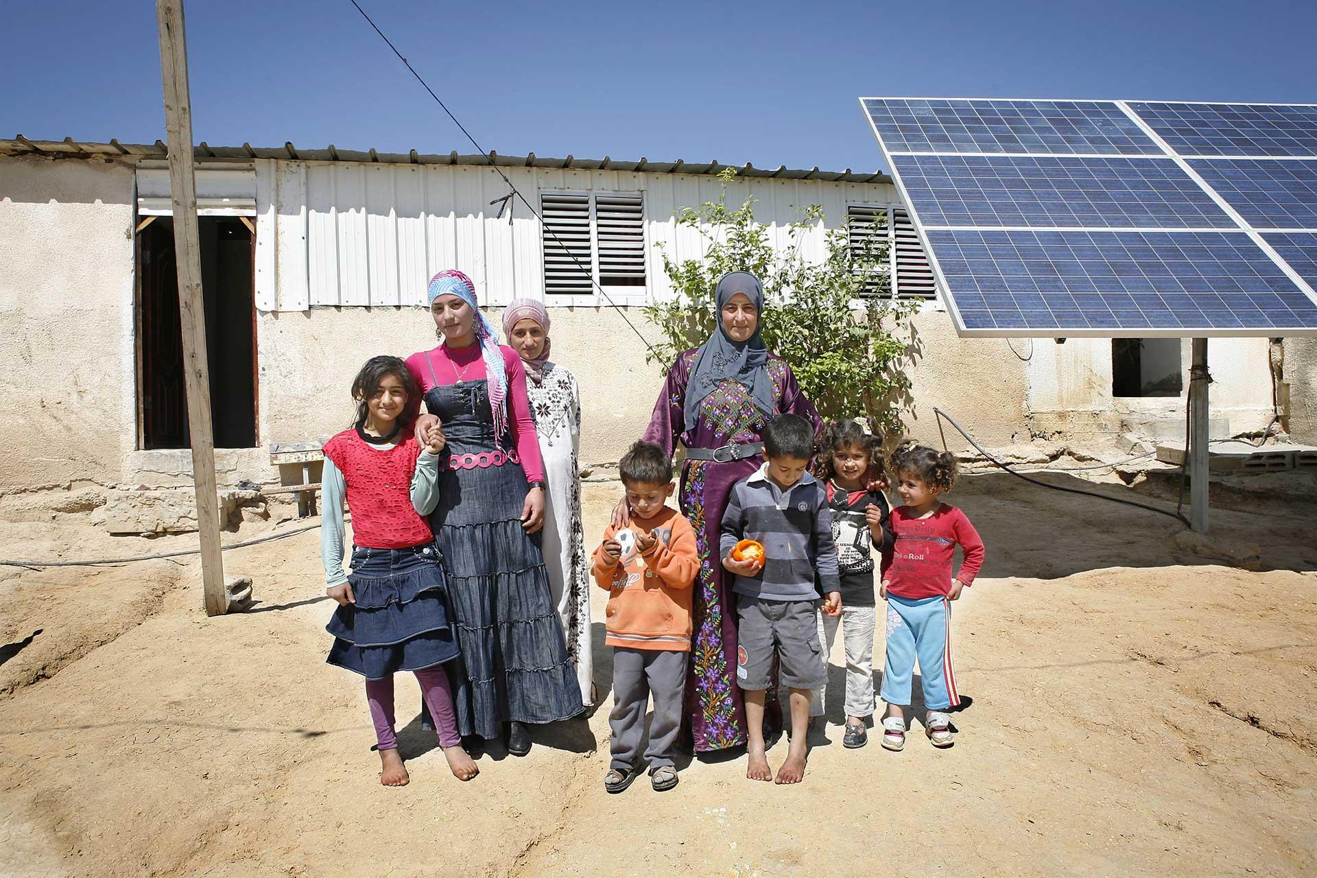 Unrecognized village of Attir, Israel 2014